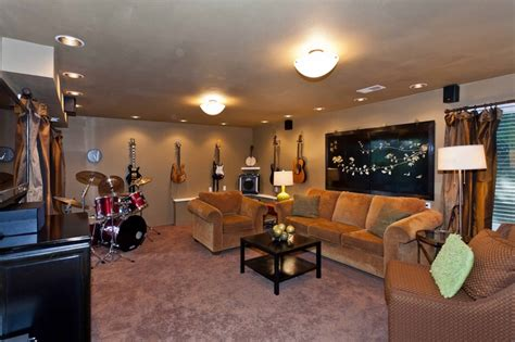 ordinary Decorating Ideas For Small Spaces #2: 257a10c59385b01fabcc15bd274283bd--man-cave-room-music-rooms.jpg