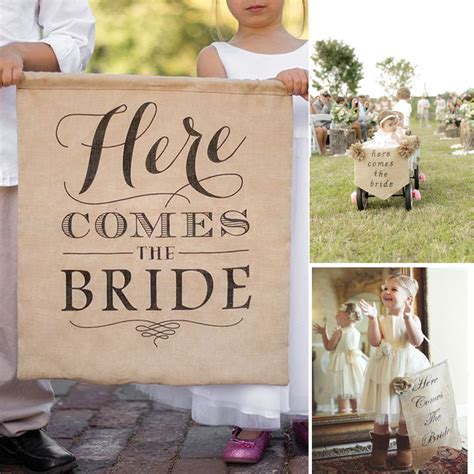 Burlap Wedding Banner Here Comes The by Vintage Country Cozy Wedding Here Comes The Burlap