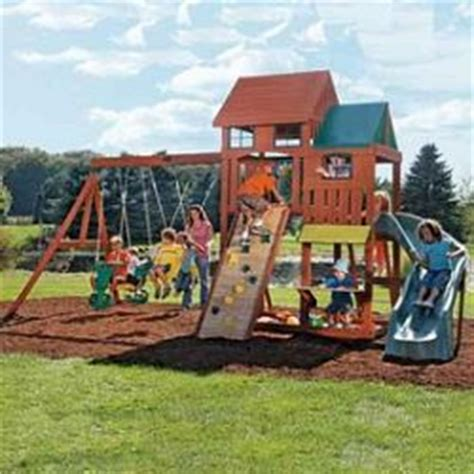 Big Backyard By Solowave 174 Crestwood Lodge Wooden Play Big Backyard By Solowave