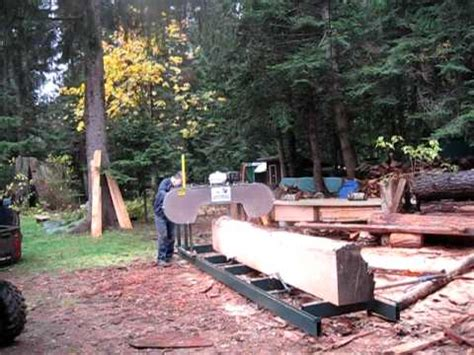 backyard sawmill backyard band sawmill ii youtube