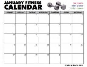fitness calendar template 5 fitness calendar templates excel xlts