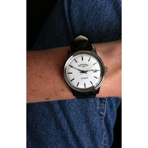 Rotary Lb02756 06 Original gs02874 06 rotary mens timepieces avenger white black