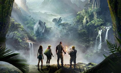 film seperti jumanji dwayne the rock johnson membocorkan konsep unik film