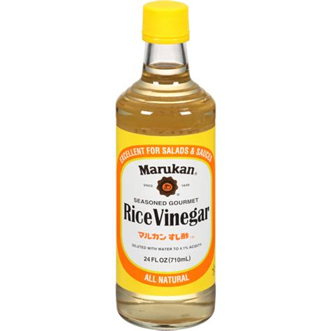 marukan seasoned gourmet rice vinegar 24 fl oz pack of 6 walmart com