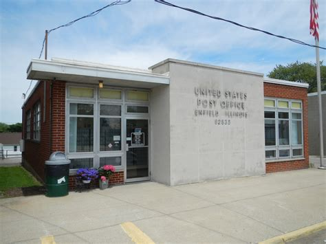 Enfield Post Office by Enfield Illinois Post Office Post Office Freak