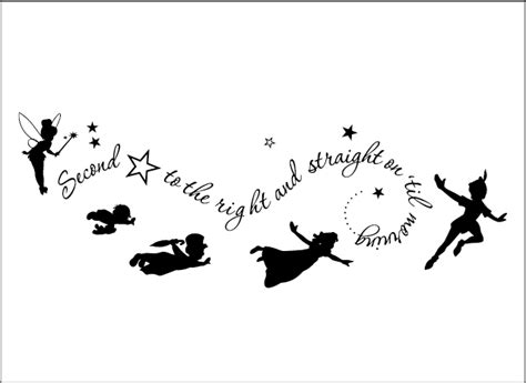 peter pan wall decal from grafix wall art