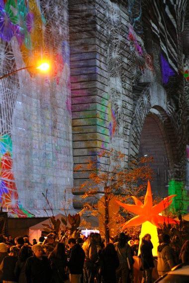 dumbo festival of lights festival of light turns dumbo into a magical scene huffpost