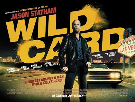 film joker jason statham gratuit m a a c new poster for jason statham s wild card aka