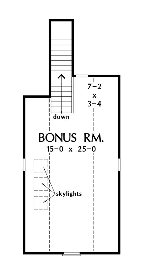 Stone Ranch with Single Living Space Convenience - Don Gardner House Plans