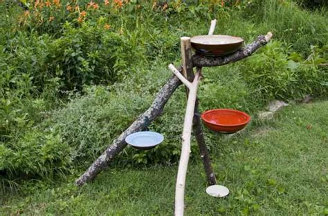 How To Get Bird Out Of Garage by 20 Lovely Diy Bird Bath Ideas To Attract Birds To Yard
