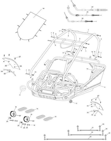 hammerhead gt 150 wiring diagram talon wiring