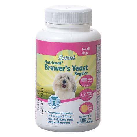 garlic for dogs excel excel brewers yeast with garlic supplement for dogs supplements