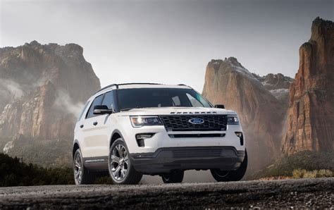 Ford Explorer Gas Mileage by 2018 Ford Explorer Gas Mileage The Car Connection