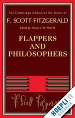 libro flappers and philosophers the flappers and philosophers fitzgerald f scott cambridge university press libro hoepli it