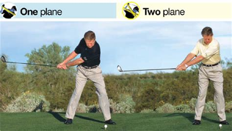 one plane swing backswing and rear golf forum