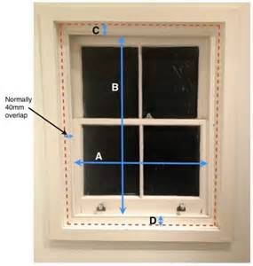 how to measure window for blinds measuring for thermal blinds for sash windows the