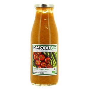 soupe courgette tomate basilic marcel bio 48cl shoptimise