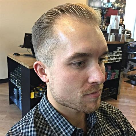 hairstyles for men receding at temple the 25 best haircuts for receding hairline ideas on