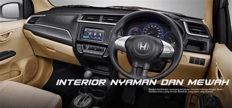 New Mobilio E Mt 1 5l Ready pilihan warna interior dan harga new honda mobilio 2016