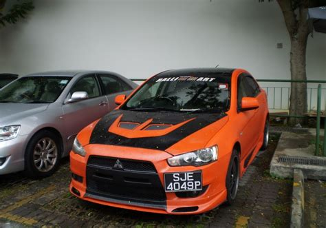 mitsubishi lancer black modified s photo gallery modified lancer ex