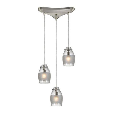 pendant light kit home depot conversion kit included brushed nickel pendant lights