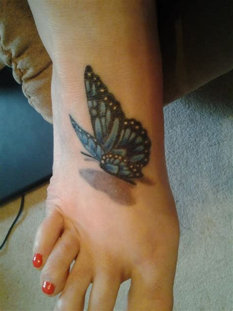 butterfly tattoo in feet 85 3d butterfly tattoos