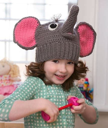 crochet pattern elephant hat do it yourself diy crochet tips and crafts for your
