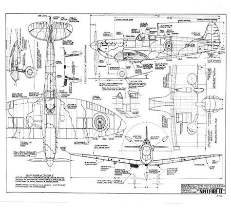 aircraft layout and detail design supermarine spitfire free wylam drawing airplanes