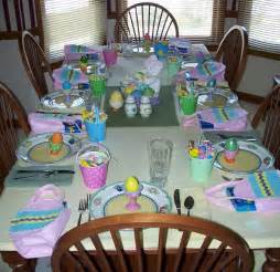 easter table decorations spring table decorating