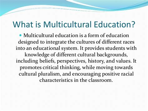 Multicultural Education Essay by How To Write Multicultural Curriculum