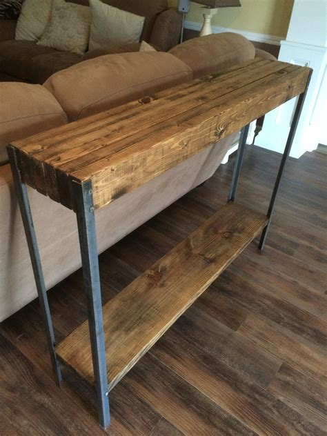 metal sofa table rustic metal leg sofa table wayne williams wood works
