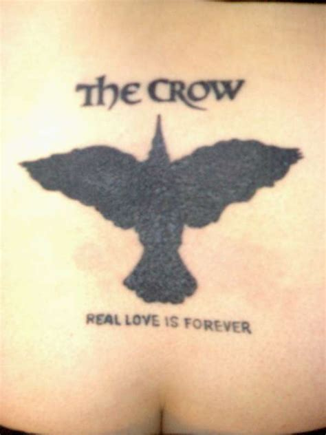 the crow tattoo the