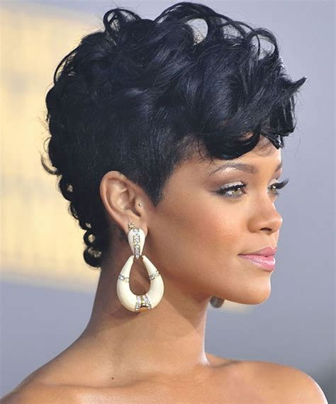 Rihanna Mohawk Hairstyles by 50 Mohawk Hairstyles For Black Stayglam