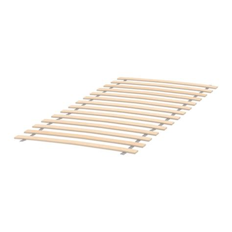 slated bed base lur 214 y slatted bed base ikea