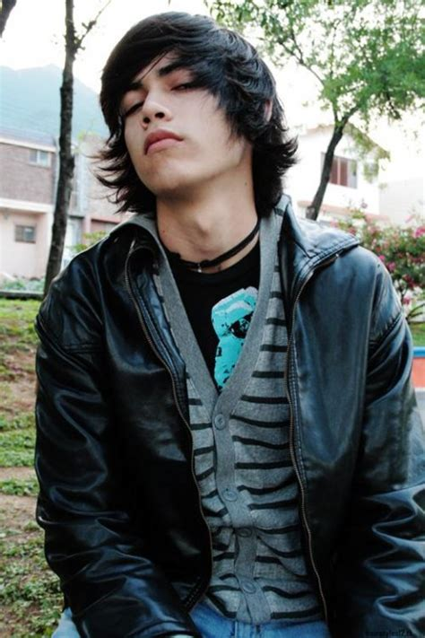 latest hispanic teenage boys style haircuts image gallery long hair male teen