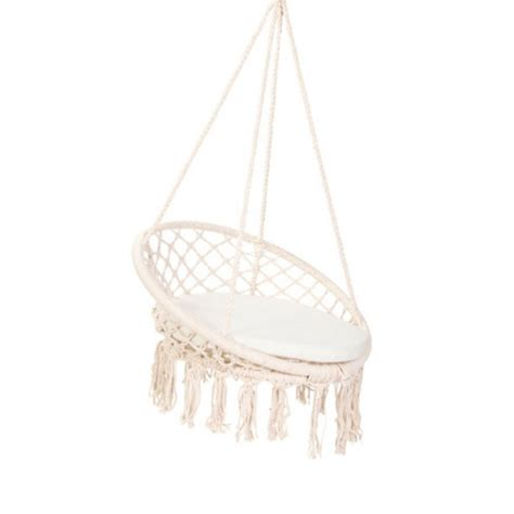 Hanging Macrame Chair by Macrame Hanging Chair Free Metro Delivery In Australia Bho