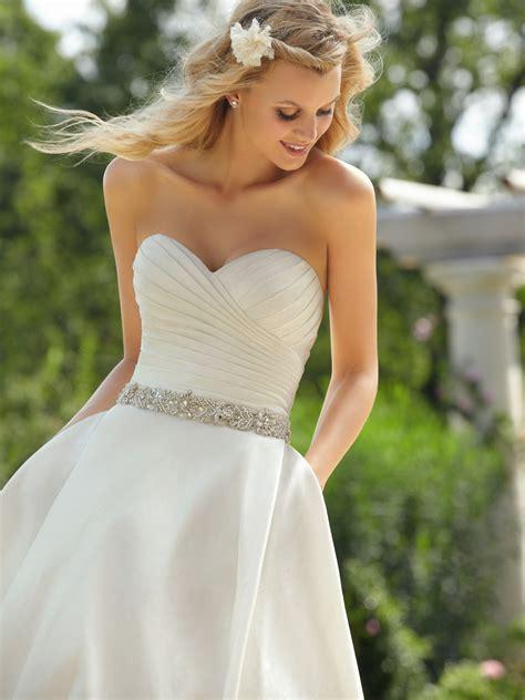 imagenes de vestidos de novia con pedreria soy la novia vestidos de novia con cintur 243 n atr 233 vete