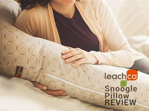 Snoogle Pillow Reviews by Leachco Snoogle Pillow Review Be Comfortable In Your