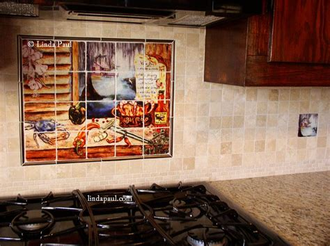 kitchen tile murals backsplash louisiana kitchen tile backsplash cajun tiles