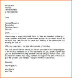 Business Letter Writing And Layout 9 Business Letter Layout Format Contract Template