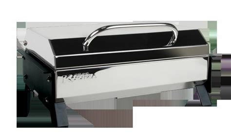 boat rail grill kuuma profile cubed 150 gas boat grill stainless steel