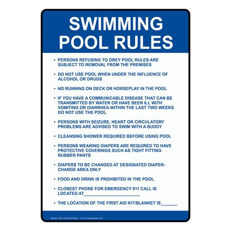 Introduction Letter Swimming Pool Company swimming pool sign nhe 15316 washington swimming