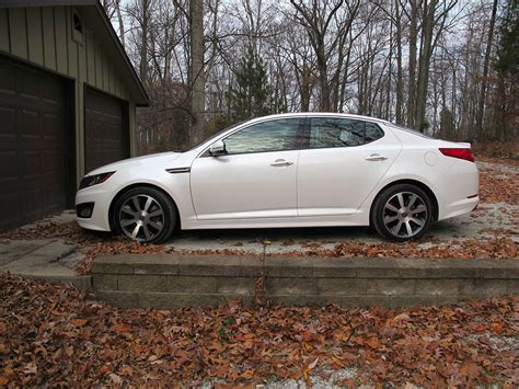 Kia Optima Manual Transmission 2011 Kia Optima Sx Turbo Test Drive