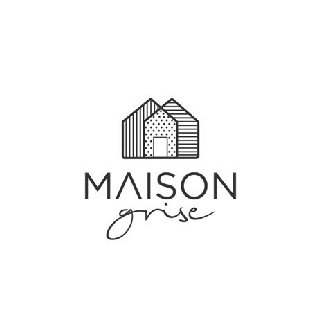 design a house logo create a classic and sophisticated house logo for maison