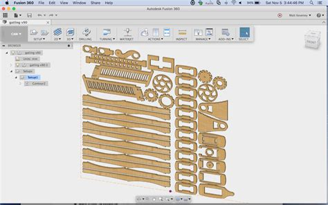 pattern sketch fusion 360 fusion 360 for laser cutting ace monster toys makerspace
