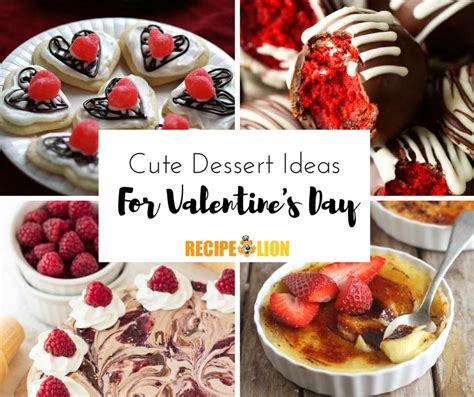10 Most Recipes For Valentines Day by 13 Dessert Ideas For S Day Recipelion