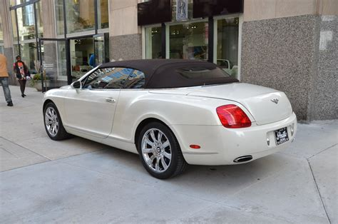 2008 bentley continental gtc for sale 2008 bentley continental gtc stock gc1631a for sale near