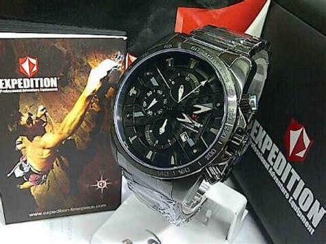 Jam Tangan Expedition 6606 Black White Ori dinomarket pasardino jam tangan expedition original