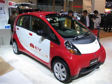 Mitsubishi Electric Vehicle I Miev Workshop And Owners