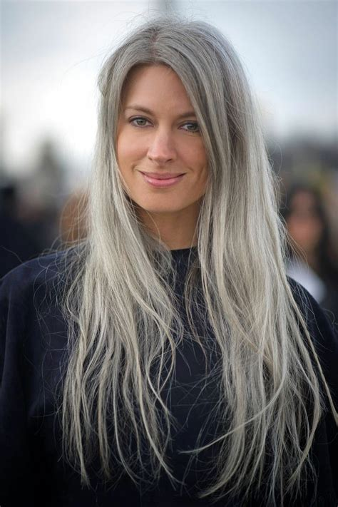 women going grey trend is granny hair really the 1 hair trend right now the